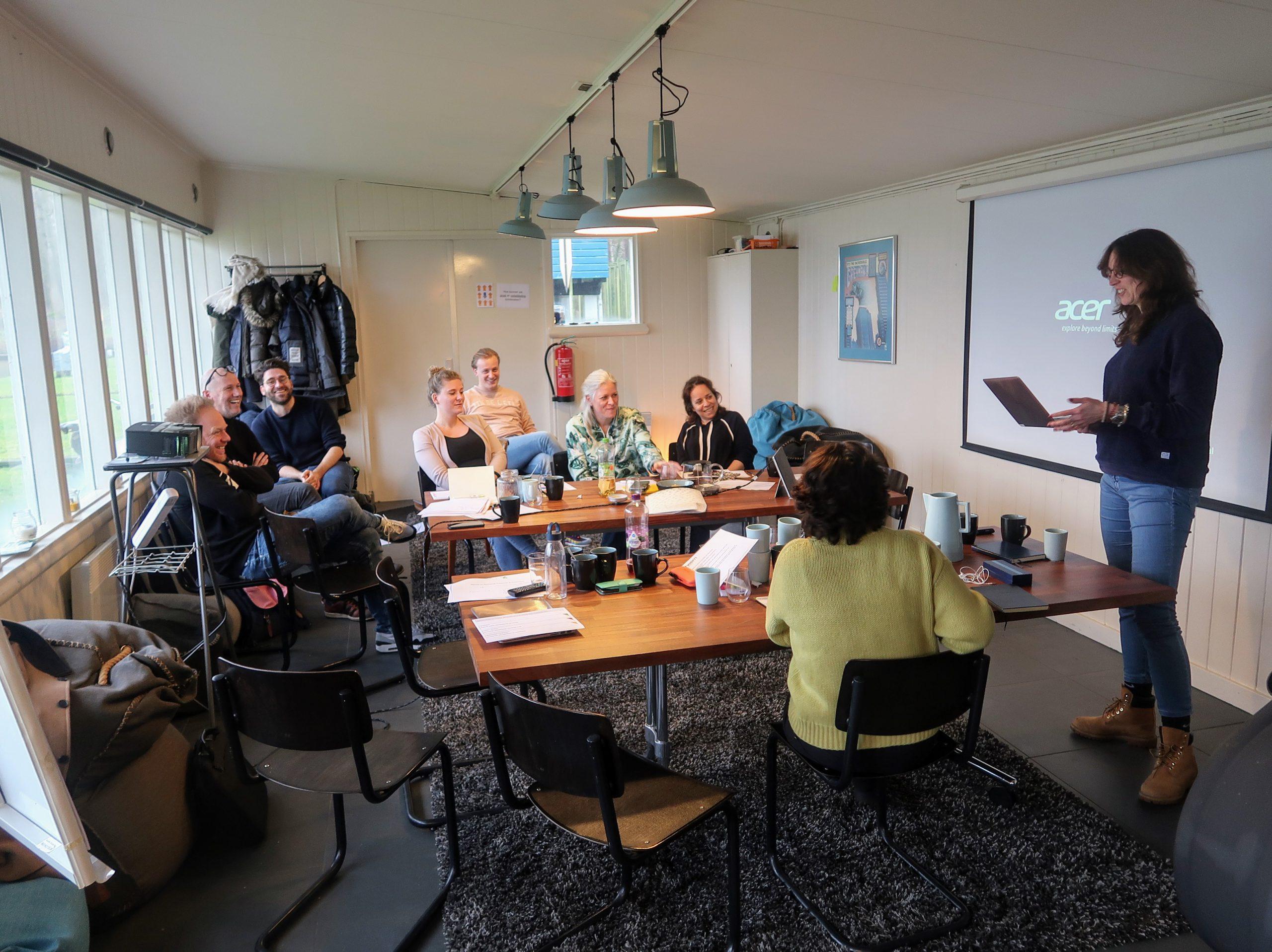 Workshop waarin een team van FD Mediagroep strategieen uit de natuur heeft toegepast op een organisatievraagstuk